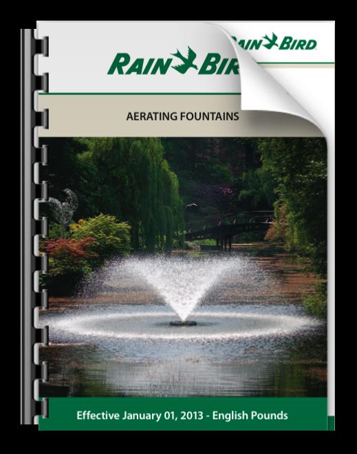 Rainbird, Aeration Fountains